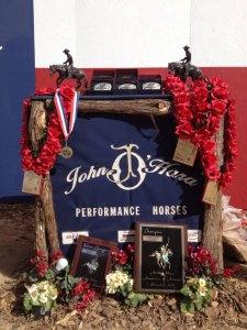 John O'Hara stalls at